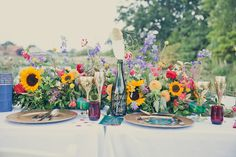 Escape to Oz: Quirky & Colourful Wedding Inspiration by Kerry Ann Duffy