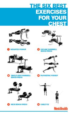 A powerful-looking upper body starts with a chiseled chest
