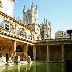 Bath, England - Roman Baths