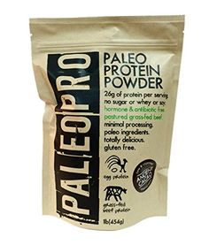 Paleo Pro Protein Powder Feed your muscles properly with this all natural paleo protein powder with all paleo ingredients and packing protein/serving! Made with Antibiotic/Hormone free Grass-Fed & Best Paleo Recipes, Primal Recipes, Whole Food Recipes, Diet Recipes, Diet Tips, Favorite Recipes, Paleo Vegan Diet, Paleo Life, Vegetarian Paleo