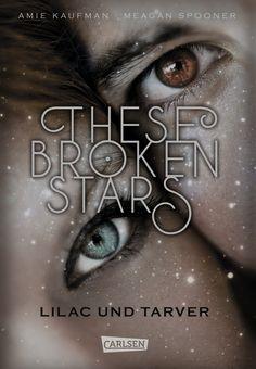"""""""These Broken Stars. Lilac und Tarver"""" von Amie Kaufman und Meagan Spooner Die flüchtige Begegnung auf dem größten und luxuriösesten Raumschiff wird ihr Leben für immer verändern. Lilac ist das reichste Mädchen des Universums, Tarver ein gefeierter Kriegsheld aus einfachen Verhältnissen. Nichts könnte die Kluft zwischen ihnen überbrücken – außer dem Schiffbruch der angeblich so sicheren Icarus. Als das Unfassbare geschieht, müssen Lilac und Tarver auf einem fremden Planeten ums Überleben…"""