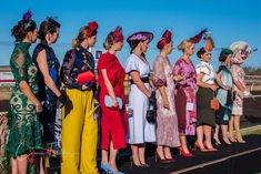 So much colour, so much style! Loving the photos taken by @conniefletcherphotography at Carnarvon Ladies Day last weekend ❤️…