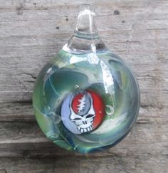 Steal Your Face Pendant Doug Prell Glass
