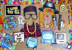 Set up a photo booth with these totally '90s props ($15) to provide hours of entertainment!