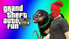 GTA 5 Online Funny Moments - Taser Dance, Chop Hump, Cargo Planes! (GTA ...