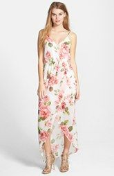 Lush Tulip Hem Maxi Dress (Juniors)