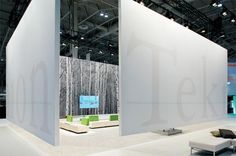 Teknion's booth at the IIDEX/NeoCon Canada show in 2009 by Vanderbyl Design #tradeshow #stand #exhibitiondesign #interiordesign - More wonders at www.francescocatalano.it