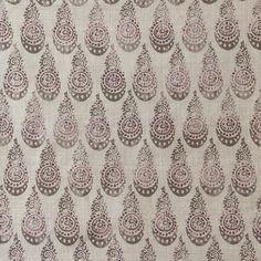 Tibetano in Juniper from ZAK + FOX #fabric #textiles #cotton #brown