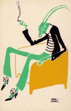 Wiener Werkstatte postcard, ca. 1895-1920