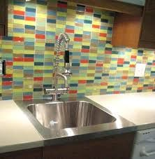 Multicolor Backsplash Ceramic Tile Google Search Glass Mosaic Tile Backsplash Kitchen Backsplash Pictures Subway Tile Backsplash Kitchen