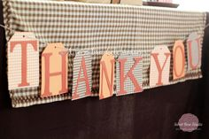 For the Gift Table! Cute Sign