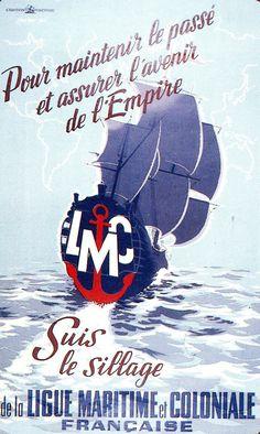 """""""Pour maintenir le passé et assurer l'avenir de l'Empire"""", affiche, 1943. © Groupe de recherche Achac / DR"""