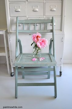 Shabby chic and romantic ispirations by moph Furniture Inspiration, Color Inspiration, Furniture Ideas, Beach Style Chairs, Painted Benches, French Armoire, Beach Cottage Decor, Burlap Pillows, Romantic Homes