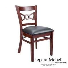 Kursi Cafe Kayu Jati Jog Kulit Oscar - Jepara Mebel - Kursi Cafe Jati Mura Cafe Furniture, Dining Chairs, Home Decor, Decoration Home, Room Decor, Dining Chair, Interior Design, Home Interiors, Dining Table Chairs