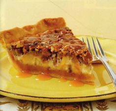 Carolina Country - Caramel Pecan Cheesecake Pie- easy and turned out great!