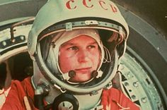 Valentina Tereshkova, Soviet cosmonaut and the first woman to fly to space when she launched on the Vostok 6 mission June 16, 1963 [950 × 630]. - Imgur