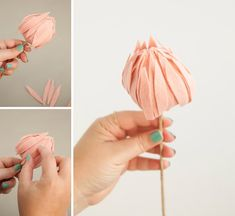 In this detailed tutorial we show you how to make the most beautiful felt protea flowers you have ever seen. Cloth Flowers, Satin Flowers, Felt Flowers, Diy Flowers, Fabric Flowers, Material Flowers, Paper Flowers Craft, Paper Crafts Origami, Flower Crafts
