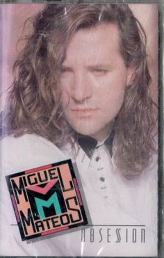 MIGUEL MATEOS OBSESION (RELEASE 1990) NEW-SEALED CASSETTE
