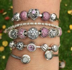 Pandora Opulent Heart is wonderful!  I love this pretty Arm Party!