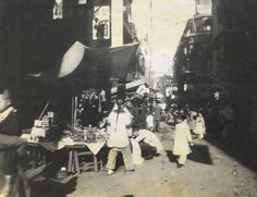 Hong Kong market , Chinese new year 1914 (photographer unknown) Chinese New Year, Hong Kong, China, Chinese New Years, Porcelain