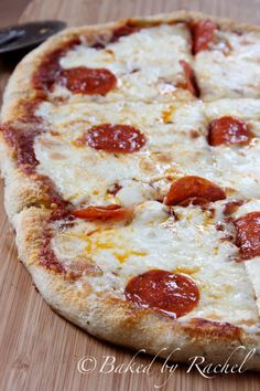 Garlic Bread Pizza: All of the flavor you want from garlic bread, but in the most amazing pizza.