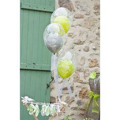 Kit ballon bulle Baptême X 20