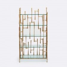 Accent Furniture | Product Categories | Made Goods Brass Shelving, Standing Shelves, Contemporary Home Furniture, Brutalist, Made Goods, Accent Furniture, Bookcase, Dressers, Graham