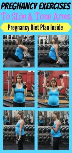 Exercises To Tone & Slim The Arms During Pregnancy - Michelle Marie Fit