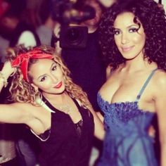 Curly Hair <3 Adrienne and Julissa <3