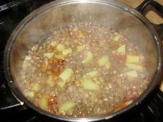 Sviatočná šošovicová polievka (fotorecept) - obrázok 3 Cheeseburger Chowder, Soup, Soups, Chowder