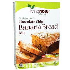 Now Foods Chocolate Chip Banana Bread Mix GlutenFree 102 oz 289 gPACK 1 * See this great product.