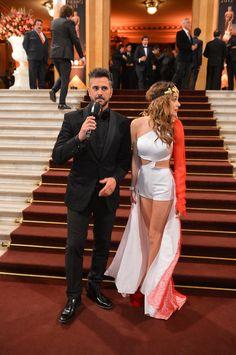 Leo Montero y Martina Stoessel. telefe.com