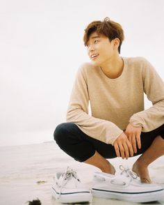 Park Seo Joon Photo shoot for Sperry sneaker brand. March 2016