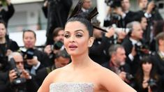 Aishwarya Rai Bachchan at Cannes 2018 red carpet.