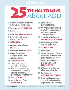 Don't mistake your ADHD strengths for symptoms! People with ADHD should revel in the traits that make you more creative, spontaneous, & energetic than anyone. Adhd Facts, Adhd Brain, Adhd Help, Adhd Diet, Adhd Strategies, Attention Deficit Disorder, Adhd Symptoms, Adhd And Autism, Autism Parenting