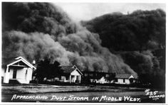 Dust bowl ~~1930s