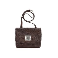 Women's American West Grand Prairie Multi-Compartment Crossbody Flap... ($148) ❤ liked on Polyvore featuring bags, handbags, shoulder bags, brown, purses, shoulder handbags, man leather shoulder bag, brown leather shoulder bag, purse pouch and brown leather handbags