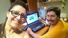 Super felices y entusiasmados con nuestro negocio de #internetmarketing!!! #anabelycarlos #parejafeliz