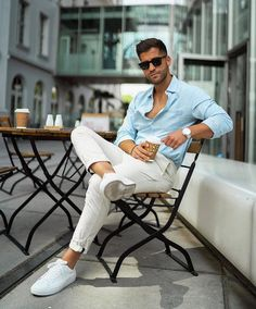 Summer Outfits Men, Stylish Mens Outfits, Suit Fashion, Mens Fashion, Fashion Outfits, Fashion 2020, Style Fashion, Business Casual Men, Men Casual