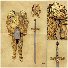 Jaime Lannister's golden armor, used on the Hand's Tourney #jaime #lannister…