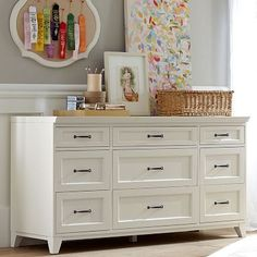 "Hampton 9-Drawer Dresser PB Teen   $949 Overall: 63.5"" wide x 21"" deep x 33"" high http://www.pbteen.com/products/hampton-9-drawer-dresser/?pkey=cbedroom-sale"