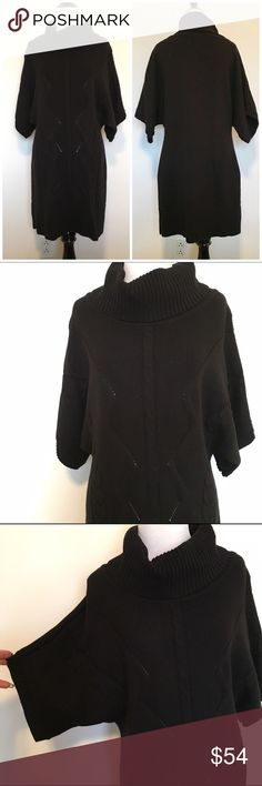 """🆕Listing! WHBM Cowl Neck Cable Knit Sweater Dress Fabulous White House Black Market black cowl neck cable knit sweater dress. Super soft and comfy. Size M. Im 5'6"""" and it fell just above my knee. Perfect with tall boots and leggings or OTK socks. 62% cotton, 38% acrylic. In excellent condition! Wide sleeves. ❌NO TRADES ❌NO LOWBALLING❌ White House Black Market Dresses"""