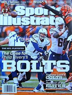 Philip Rivers Los Angeles Chargers Publications