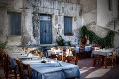Restaurant in Naxos. | 31 Photos That Will Make You Want To Visit Greece Immediately