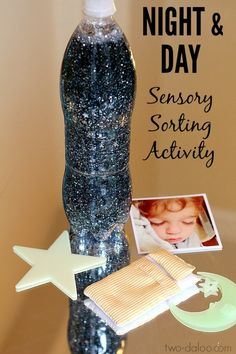 Night and Day Sensory Sorting Activity