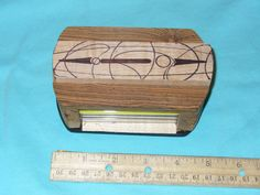 Multiwood and Multimedia Art Box by CustomBox on Etsy, $20.00
