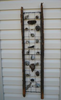 Rocks collected from our bike trip down the west coast created by Lynda Hynes