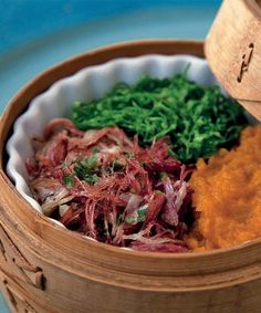 Arrumadinho de Carne Seca - Is Very Famous in Northeastern Brazil Dessert Drinks, Dessert Recipes, Desserts, Latin American Food, Good Food, Yummy Food, Brazil, Beef, Cooking