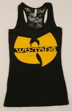 WU TANG CLAN Lace Tank Top T-shirt Rap Hip Hop Gza Rza ODB JUNIORS Tops S-XL New Hipster Chic, Wu Tang Clan, Cool Outfits, Fashion Outfits, Summer Chic, Great T Shirts, Cool Costumes, Cool Tees, Athletic Tank Tops