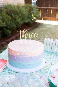 10th Birthday Cakes For Girls, Preteen Birthday, Girly Birthday Cakes, Mermaid Birthday Cakes, Mermaid Cakes, Birthday Treats, Birthday Cake Girls Teenager, Baking Birthday Parties, Smash Cake Girl